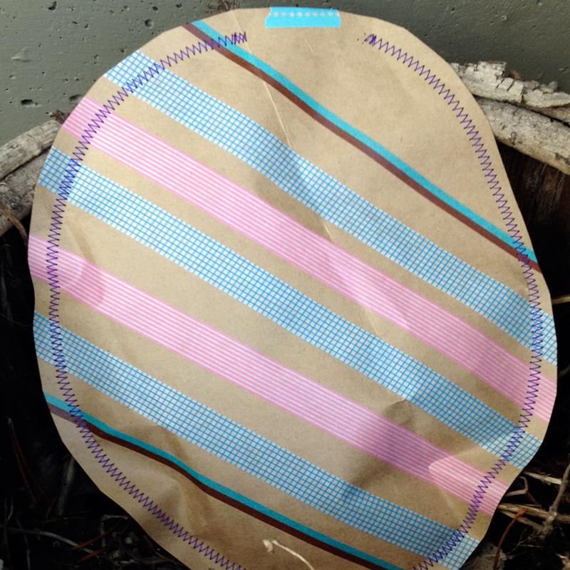 Paper-easter-eggs
