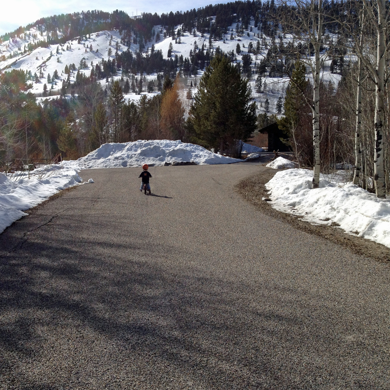 First-spring-bike-ride